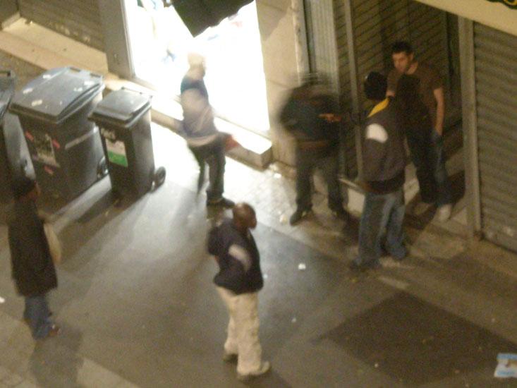 Marché de nuit à Saint-Denis